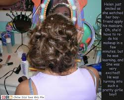 fem boys at the hair salon 163 best embarrassed images on pinterest tg captions my style