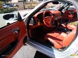 porsche red interior boxster red interior 2003 porsche boxster standard boxster model