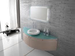 Glass Top Vanities Bathrooms Modern Bathrooom Vanity With Glass Top Vanity And White Bowl With