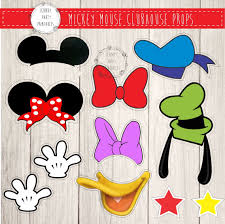 mickey mouse photo booth props mickey mouse photo booth prop printables mickey mouse bebe