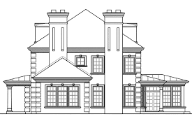 House Plan Elevations Elevation Modern Home And Sq Ft Appliance