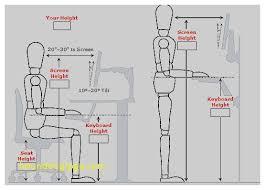proper height for standing desk desk chair proper chair height for desk inspirational standing