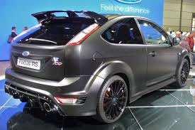 ford focus rs wiki file ford focus rs 500 heck jpg wikimedia commons