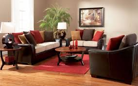 Decorating With Red Sofa Innovative Living Room Grey Lounge Chair Sofa Retro Red Leather