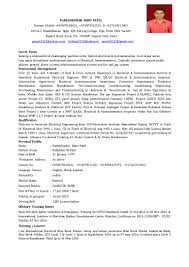 Electricians Resume Resume For Iti Electrician Free Resume Example And Writing Download