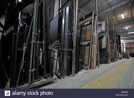 warehouse with stage decorations deutsche oper berlin german