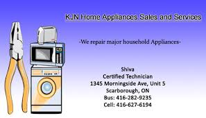 Appliance Business Cards Toronto Appliances 5 Jpg