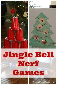 jingle bell nerf games nerf games nerf and jingle bells