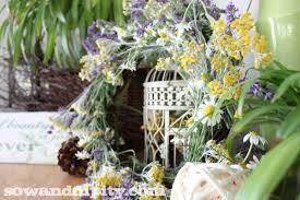 herb wreath fresh herb wreath