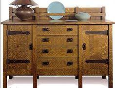 mission style sideboard woodworking furniture projects