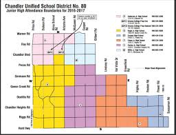 Chandler Az Zip Code Map by Chandler Schools Boundary Maps Search For Homes By Boundaries