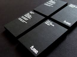 Creative Graphic Designer Business Cards 30 Best Foil Blocked Business Card Designs Matt Rogers Web