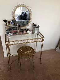 Desk And Vanity Combo Wire Loop Vanity Urban Outfitters