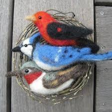 109 best felted birds images on diy felt crafts and