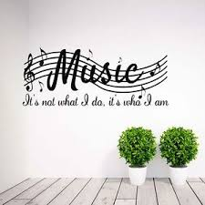 music note home decor fashion home decor wall stickers music musical notes removable decal