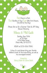 two peas in a pod baby shower two peas in a pod baby shower invitation thank you card