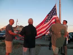 Usa Flag Cape Cape May Flag Ceremony 2015 Cpt Brian Faunce Memorial Fund