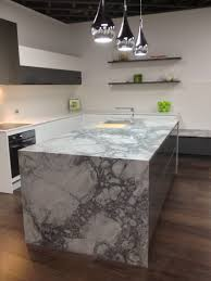 bathroom small kitchen island design with super white quartzite