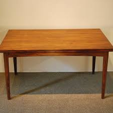 10241 mid century modern rosewood extension dining table circa