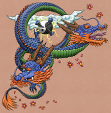 colored japanese dragon tattoo type tattoomagz