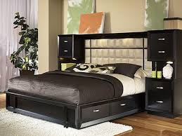 Bedroom Wall Unit Headboard Home Interior Design Ideas - Bedroom furniture wall unit