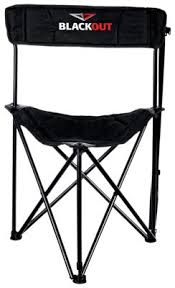 blackout fold up tripod blind stool bass pro shops