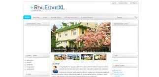 Site Map Template Free Real Estate Templates Joomla News Admin1