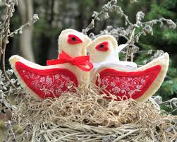 couples gift birds ornaments anniversary gifts wedding gift for