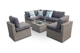 rattan corner sofa manchester 7pc modular rattan corner sofa daybed set whitewash