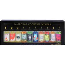 coastal cocktails global cocktails mixers holiday gift 10 count