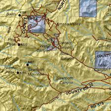 Utd Map Southwest Desert N Utah Mule Deer Hunting Unit Map With Land