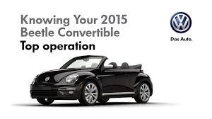 volkswagen convertible 2015 volkswagen beetle convertible convertible top youtube