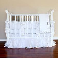 White Crib Set Bedding Baby Crib Bedding White Crib Rail Guard Set White Baby