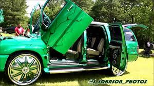green cadillac escalade green cadillac escalade esv on dub wheels in hd must see