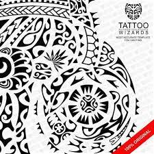 maori sea warrior vector tattoo template stencil tattoo wizards