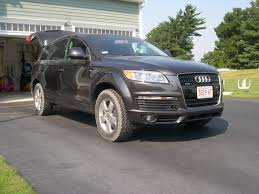 Audi Q7 Off Road - q7 is now doing much better at the beach all terrain tires made a