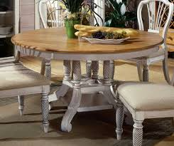 hillsdale wilshire round oval dining table antique white hd 4508
