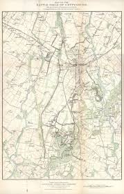Map Of Pennsylvania 1904 Pennsylvania At Gettysburg Map 1 15 000