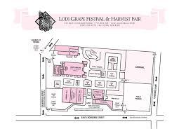 Amphitheater Floor Plan by Lodi Grape Festival