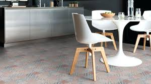 carrelage vintage cuisine sol vinyle cuisine le vinyle imitation carreaux de ciment est