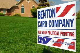 yard signs benton card company inc