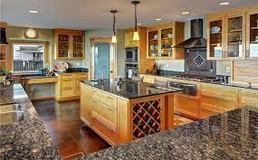 Baltic Brown Granite Countertops With Light Tan Backsplash by Beige Granite Countertops Colors U0026 Styles Designing Idea