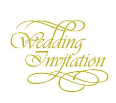 wedding invitations font wedding invitations by design