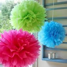 Pom Pom Decorations Pom Pom Decoration Tissue Balls All Urz Party Planning