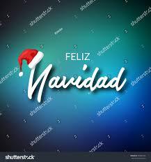 feliz navidad merry christmas card template stock vector 539802103