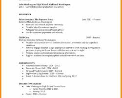 teen resume exles crafty design resume for simple student format engineering students