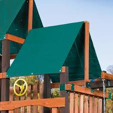 Tarp Canopy Kits by Extra Duty Canopy Roof Tarp Swingsetmall Com