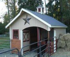 backyard horse barns need to go a little bigger to house your goats mini horse