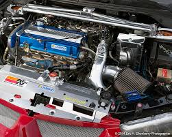 evolution mitsubishi engine team hybrid evo viii running k u0026n air filter featured in june july