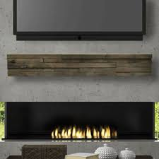 Floating Fireplace Mantels by Dawson Wood Mantel Shelves Fireplace Mantel Shelf Floating